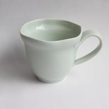 Photo: 青白磁 波のマグカップ