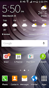 S6/S7 Zooper Widgets Screenshot