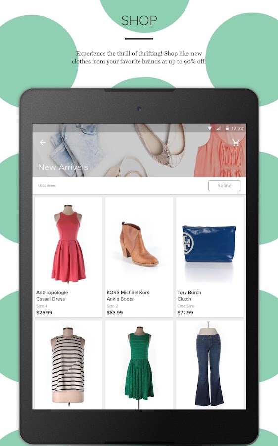 thredUP - Shop + Sell Clothing- screenshot