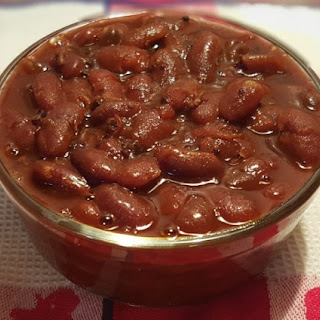 Pressure Cooker Holiday Baked Beans.