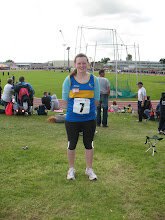 Photo: Ciara Mockler who competed in the Girls U/14 Shot Putt