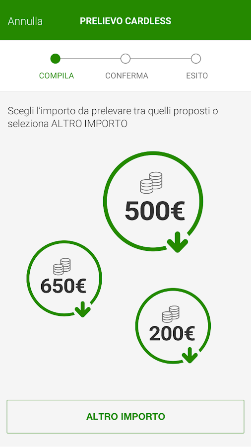 Intesa Sanpaolo Mobile- screenshot