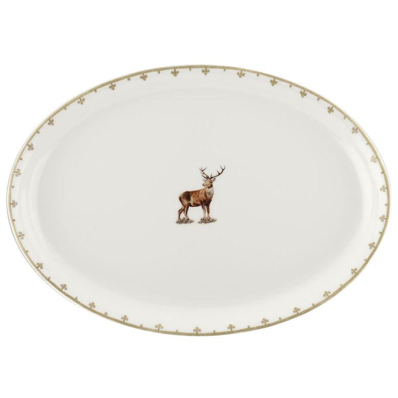 Glen Lodge Stag Oval Platter 3