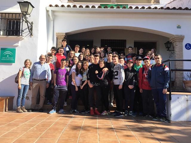 Visita a Los Villares 2017