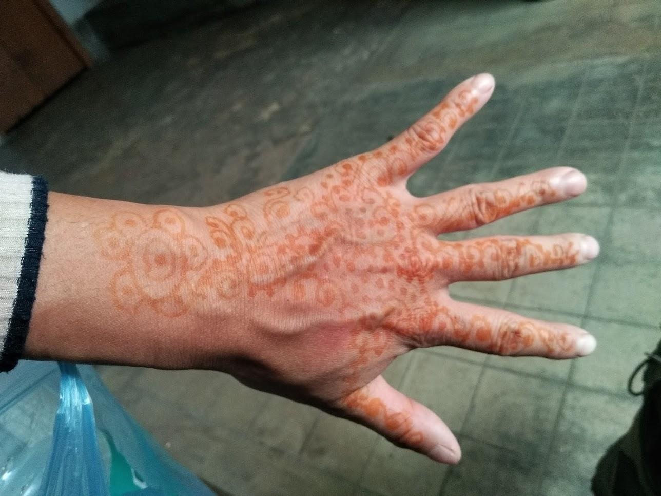 乾燥後のハナ
