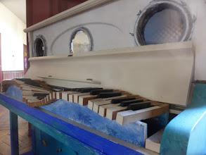 Photo: Detail - Klavier Kunst Projekt der Stadtschule Travemünde, Wellenpiano