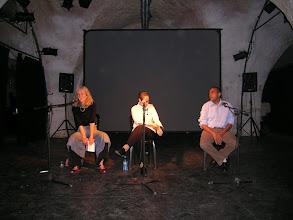 Photo: Dina Lee, Tali Fahima and Yousouf Asfour