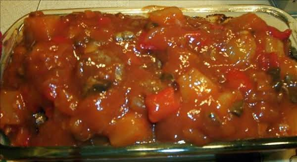 Meatloaf With Sweet-and-hot Sauce