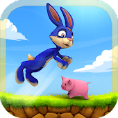 Jumping Bunny Survival Escape: Bunny Rabbit Games