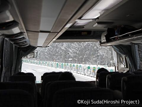 弘南バス「スカイ号」 ・991 東北道走行中(大鰐弘前インター~紫波SA)