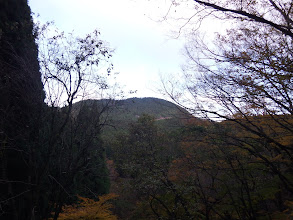 八葉山を振り返り見る