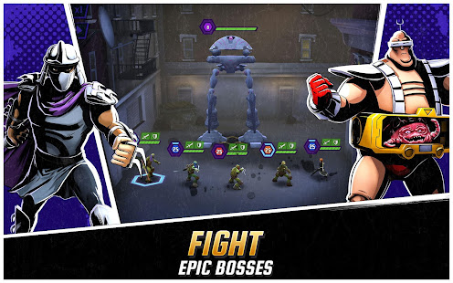 Las Tortugas Ninja: Leyendas Mod