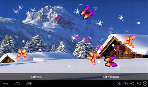 Winter Snow 3D LWP