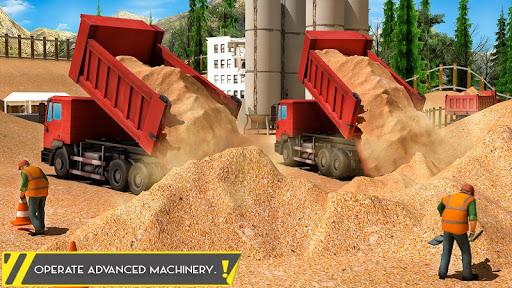 Sand Excavator Offroad Crane Transporter android2mod screenshots 7