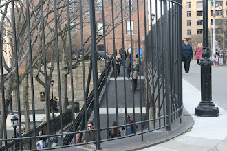 Photo: Squibb Park is finally open.  In the two and a half years I've been here, I never saw it unlocked before.