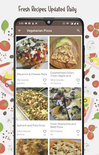 Burger And Pizza Recipes 25.7.5 screenshots 3
