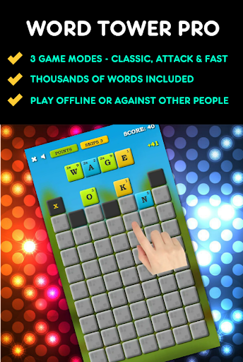 Screenshot for Word Tower PRO in United States Play Store