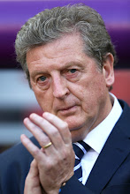 Photo: Manager Roy Hodgson of England looks on during the UEFA EURO 2012 group D match between France and England at Donbass Arena on June 11, 2012 in Donetsk, Ukraine.