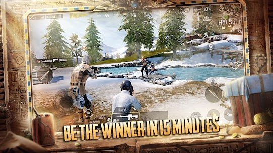 PUBG MOBILE MOD APK 1.1.0 x-ray slider dlg cheat 5
