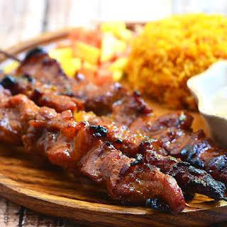 Filipino Pork Barbecue.
