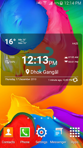 Weather Forecast and Widget