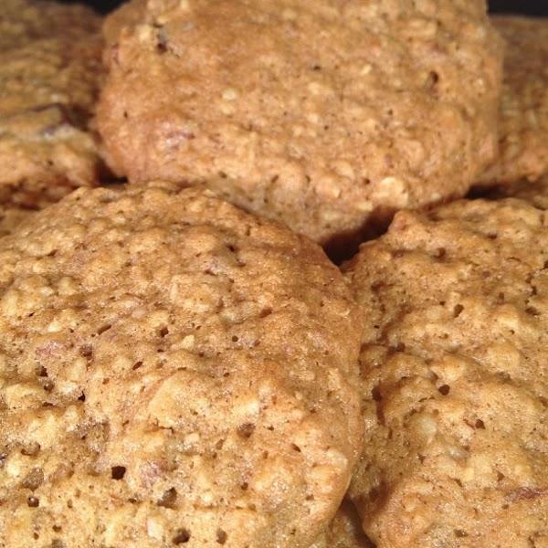 Oatmeal Trailmix Cookies Recipe