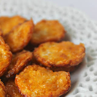Two Ingredient Cheese Crisps.