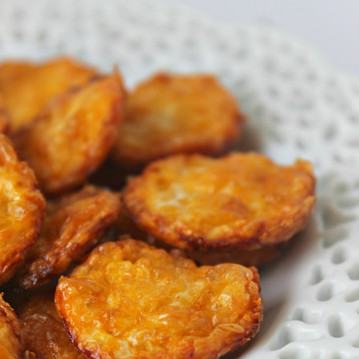Two Ingredient Cheese Crisps Recipe