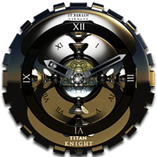 Knight Analog Clock Widget