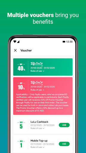 PayBy – Mobile Payment & Money Transfer screenshot 3