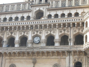 Photo: 7B130020 Hyderabad - Charminar (1591) 49 m
