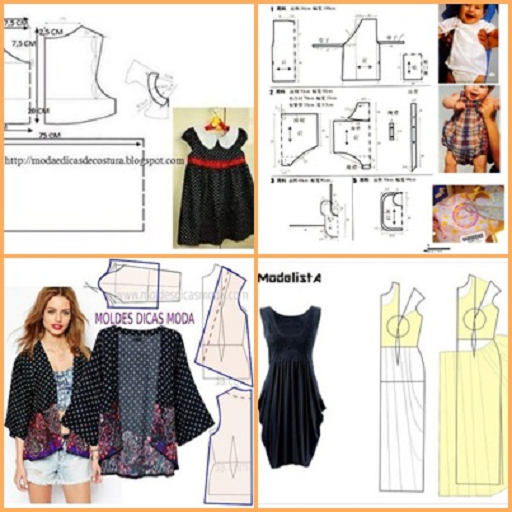 Basic Pattern of Clothes