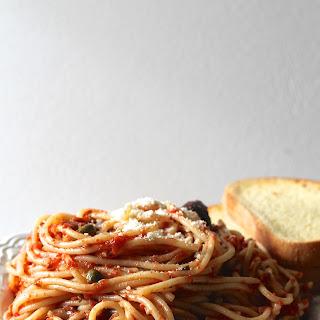 Weeknight Pasta Puttanesca