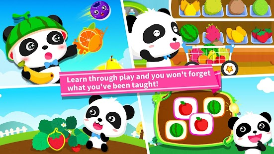 Baby Panda Learns about Fruit - náhled