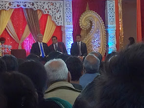 Photo: (L-R) PM Stephen Harper , Deepak Obhrai MP & Bal Gosal MP  http://canadaindiaeducation.com/ciec-and-harper-attend-14th-national-diwali-celebration