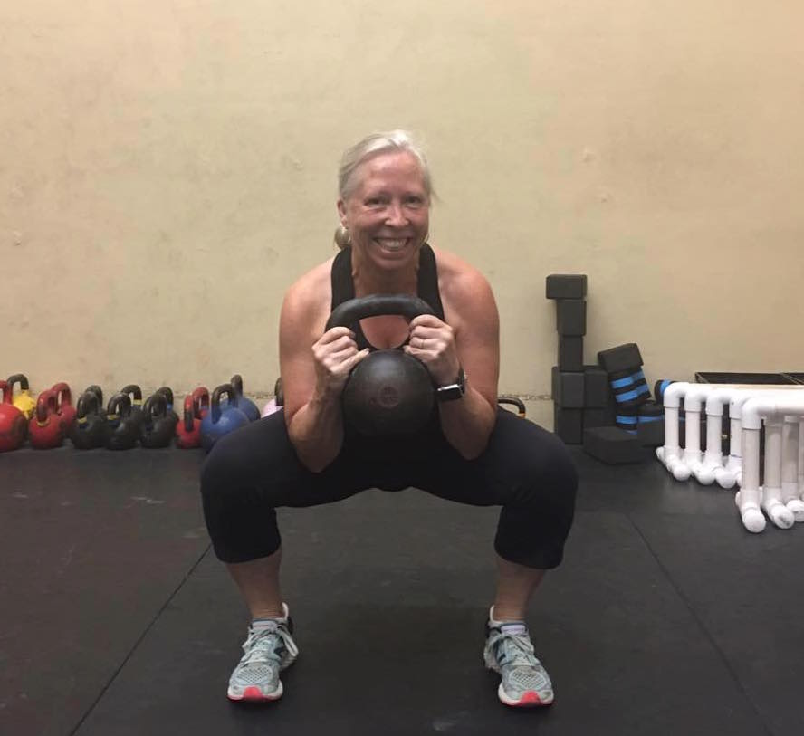 Squatting and Smiling