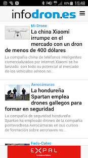 infodron.es- screenshot thumbnail