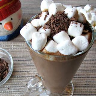Creamy Espresso Hot Chocolate