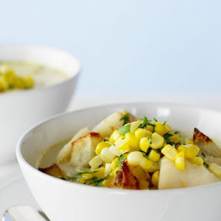 Sweetcorn and Seafood Soup
