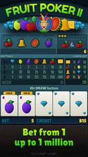 Fruit Poker II - náhled