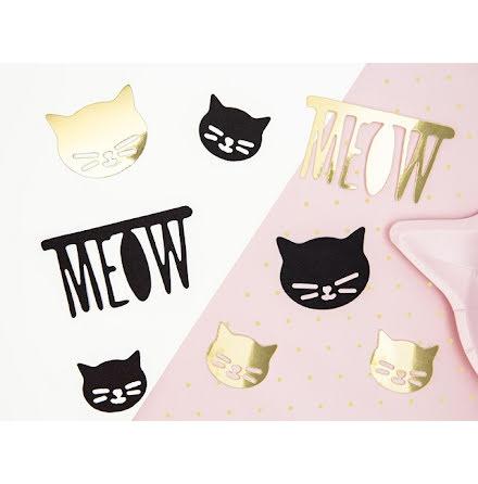 Pappersdekorationer - Katt
