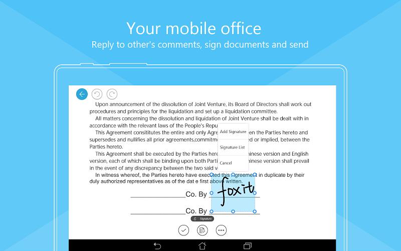Foxit PDF Business & Converter Screenshot 12