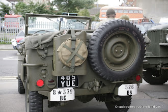 Photo: Canteen Jeep behind yue