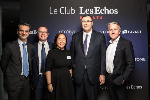 Club Les Echos Débats du 12 décembre 2018  avec Patrick Pouyanné, Président-Directeur Général de Total