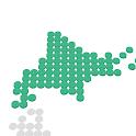 Enjoy Learning Hokkaido Map Puzzle icon