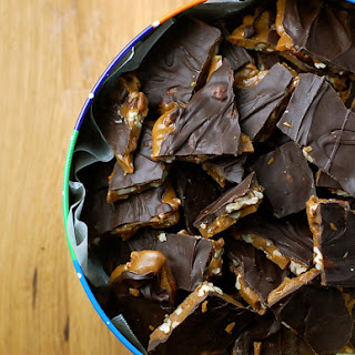 Chocolate Espresso Pecan Toffee