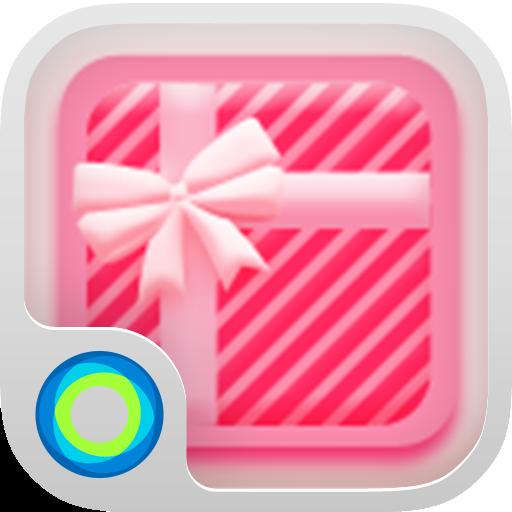Pink Polka  Hola Launcher テーマ 個人化 App LOGO-硬是要APP