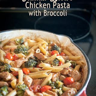 Italian Bistro Chicken Pasta with Broccoli.
