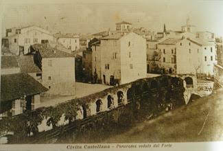 Photo: Veduta della città dal Forte del Sangallo. Inizi '900.