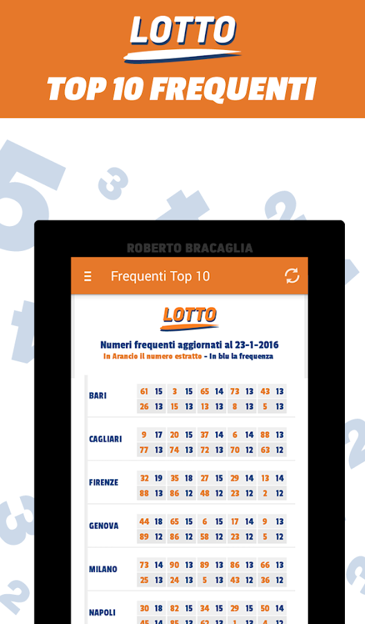 Lotto e 10eLotto- screenshot